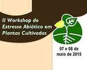 2º Workshop de Estresse Abiótico em Plantas Cultivadas