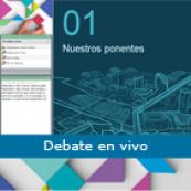 Debate en vivo con César Nunes y Mª Teresa Lugo