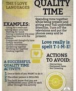5 love languges Quality Time