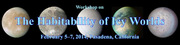 Workshop on the Habitability of Icy Worlds