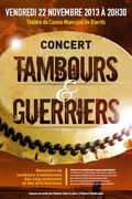 """concert """"Tambours & Guerriers"""" & Expo"""