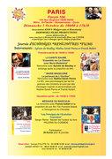 Paris - Forum 104  - le 05 oct 2014