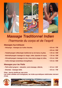 Massages Ayurvédiques, Réflexologie et modelage du visage Indien au bol Kansu