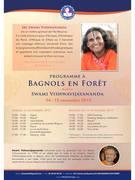 Week-end Spirituel hindou avec Swami Vishwavijayananda