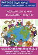 Journée de Partage International et méditation