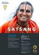 Satsang et bénédiction de Paramahamsa Sri Swami Vishwananda