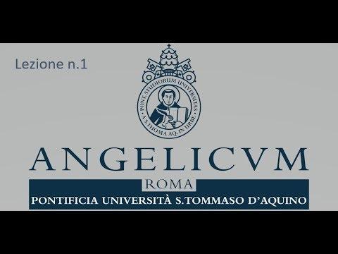 Corso di Teologia Spirituale (con sottotitoli). Prof. BOVA, Ciro. Lezione n. 1