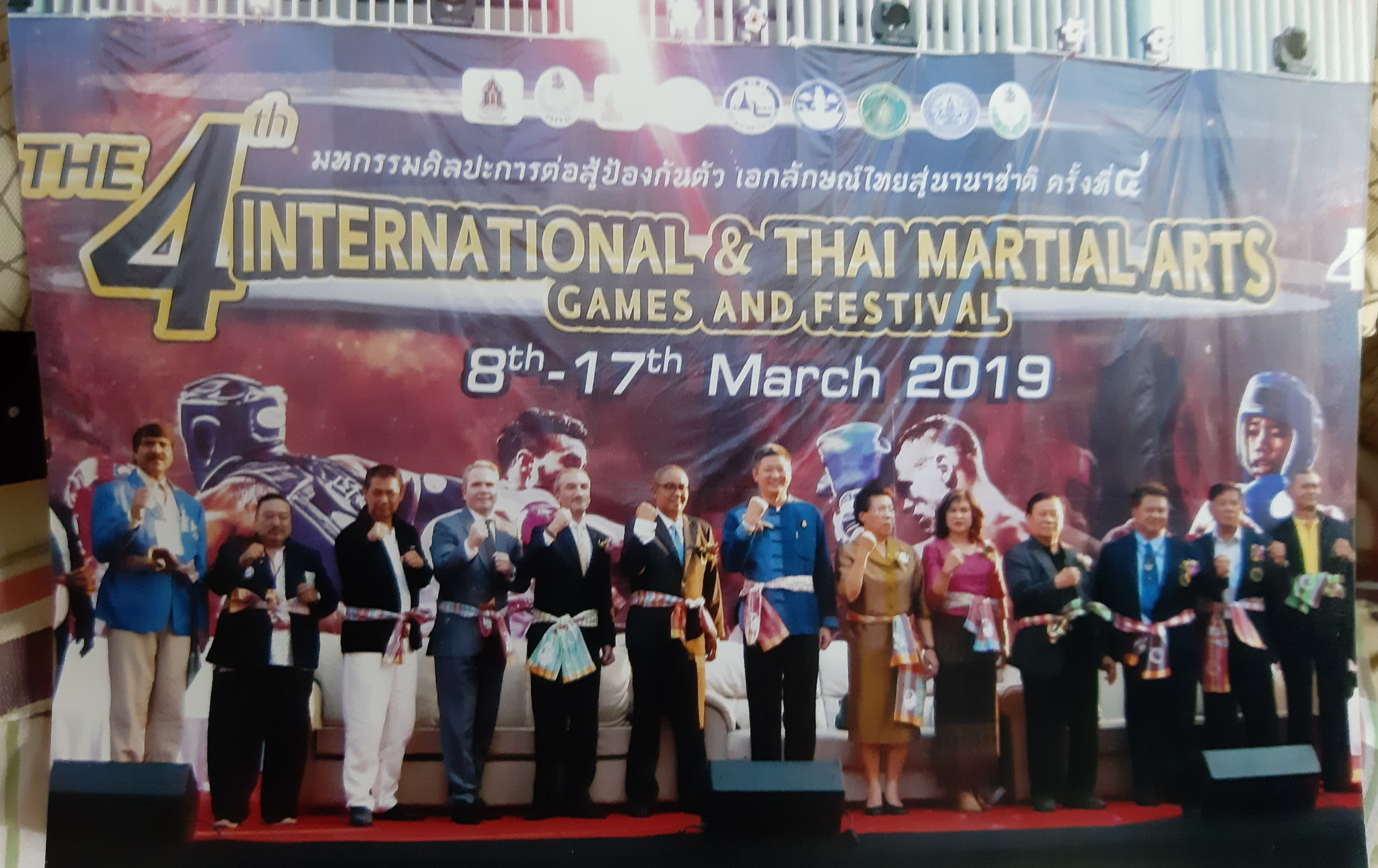4th INTERNATIONAL & THAI MARTIAL ARTS GAMES AND FESTIVAL - 2019
