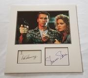 Arnold Schwarzenegger & Sharon Stone