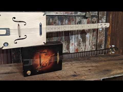 Tupelo Tenor Box Guitar Kit - 4 Strings of Blues Heaven