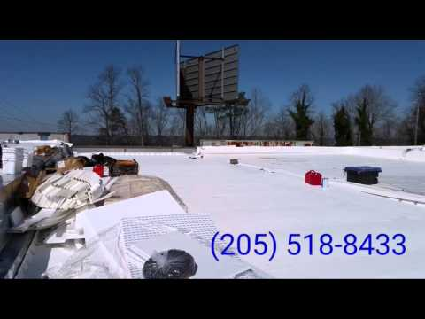 Commercial Flat Roof Installation in Alabama
