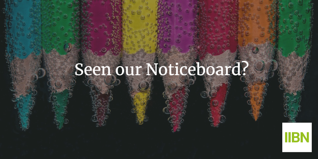 9 Creative Ways You Can Use the IIBN Noticeboard