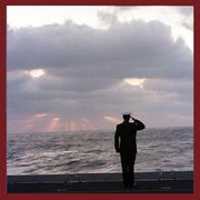 Navy Poster Salor saluting the sunrise