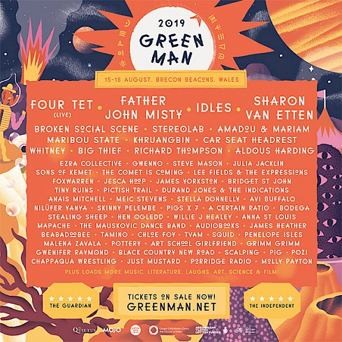 Green Man 2019 cabaret call out  - National Theatre Wales
