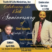 Celebrate with the man of God