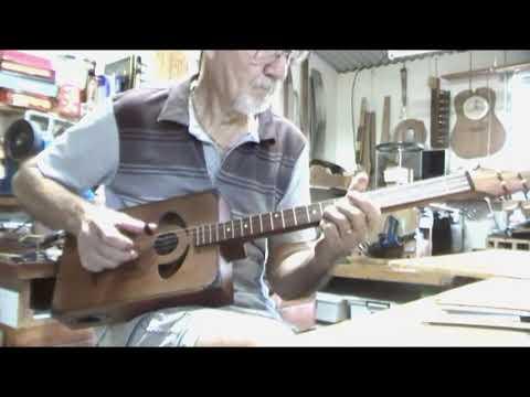4 string Cgb style guitar