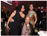 Diana ROSS, QUINCY JONES AND MARY WILSON