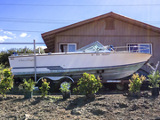 1977 Lancer 23 - Twin Outboard Conversion
