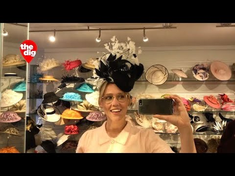 'It's All About Attitude' At UES Hat Shop Suzanne Couture Millinery
