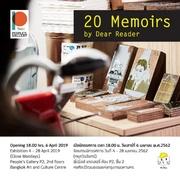 """นิทรรศการ """"20 Memoirs"""""""