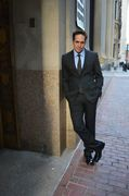 Fashion: Power Suit at the Financial District