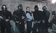 Agent Fidelio and his SWAT Team
