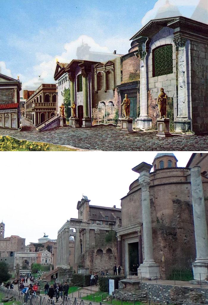რომი, კომპიუტერული გრაფიკა, ნახატები, ძველი ფოტოები, ბლოგი, Qwelly, history