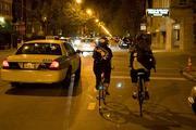 Martin and I riding Post Cyclo Urbano