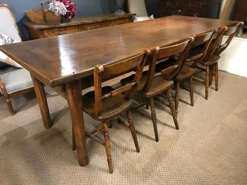 Antique Dining Tables, French Farmhouse Dining Tables, Old Rustic, Antique Oak Dining Tables At Antique Tables West Sussex, UK