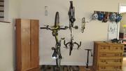 bike hanging before