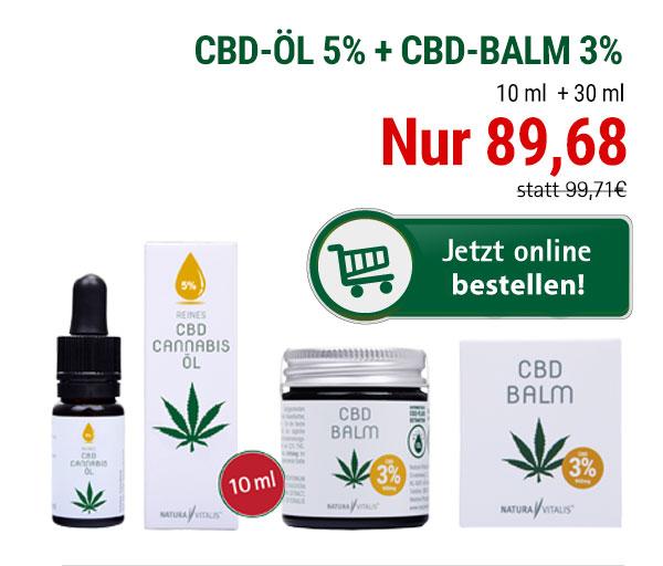 CBD Öl & CBD Balm von Natura Vitalis