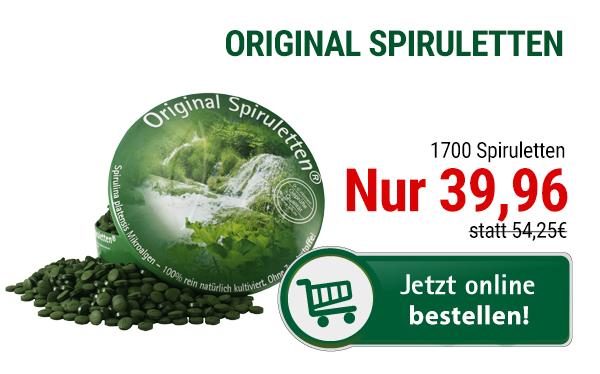 Original Spiruletten von Natura Vitalis