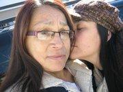 My mom and I...