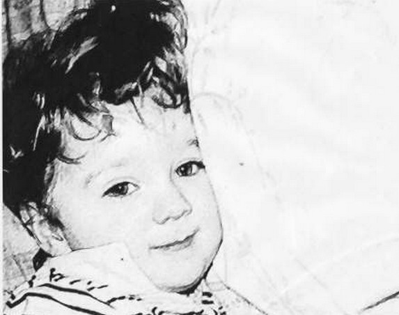 My grandson in 2005  Sketch by Marique