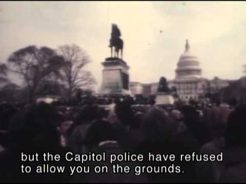 Jeanette Rankin Peace Brigade, 1968 archival footage