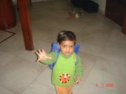 Shivansh going to play school