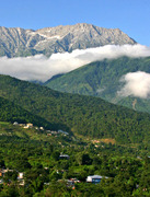Dharamsala - village and mountains