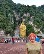 Malaysia Batu Caves outside Kuala Lumpur
