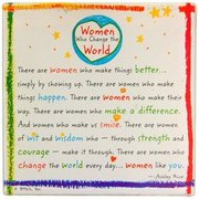 Women Who Change the World