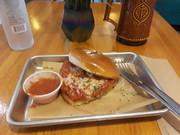 Vegan No Parm sandwich