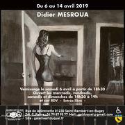 Exposition de Didier Mesroua