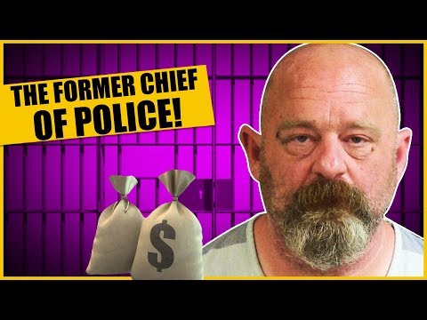 Police Chief Robs Bank. Gets Caught. Is Let Go. Robs Another Bank