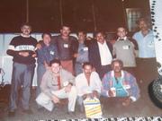 romildo e os amigos lembrança do XIV CNTT-blumenal setembro de 90