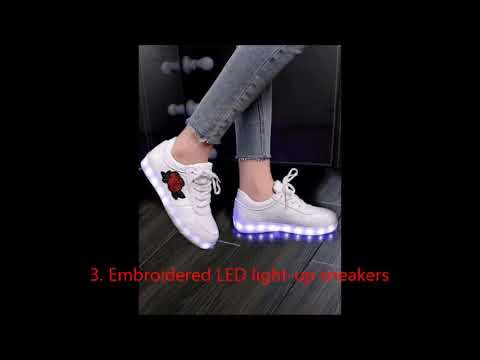 10 Girls LED Light Up Shoes to Put on your Wish List