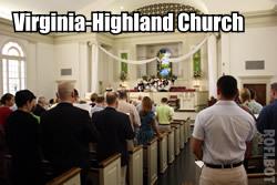 Worship at Virginia Highland Church