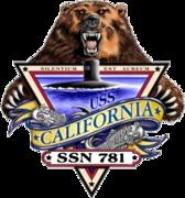 USS California Submarine