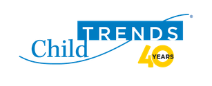 child trends logo with a yellow 40 year anniversary