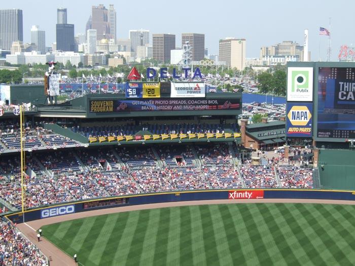 Turner Field (Former Braves) - Atlanta, GA