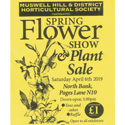 Muswell Hill Spring Show and Plant Sale