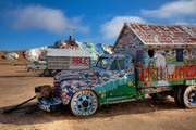 first view of Salvation mountain